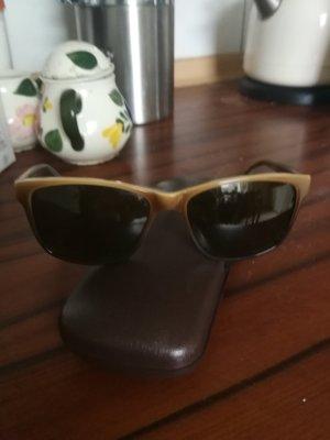 Eschenbach Angular Shaped Sunglasses bronze-colored-grey