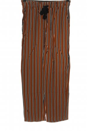 Ese O Ese Baggy Pants striped pattern casual look