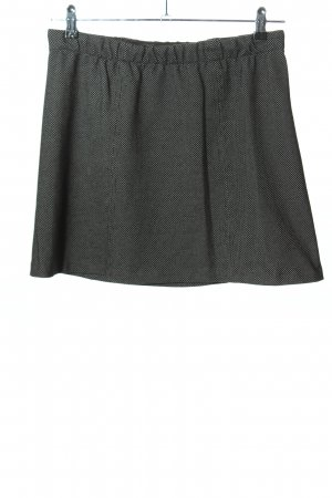 Ese O Ese Miniskirt black-white striped pattern casual look