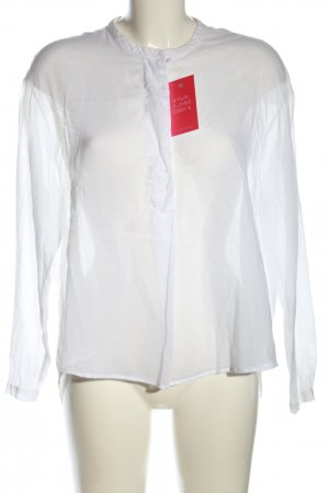 Ese O Ese Transparent Blouse white business style