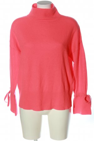 ESISTO Kaszmirowy sweter różowy W stylu casual