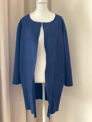 ESISTO langer Cardigan blau