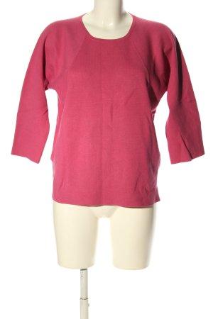 ESISTO Rundhalspullover pink Casual-Look