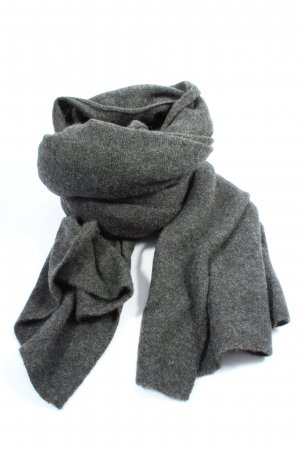 ESISTO Shoulder Scarf light grey flecked casual look