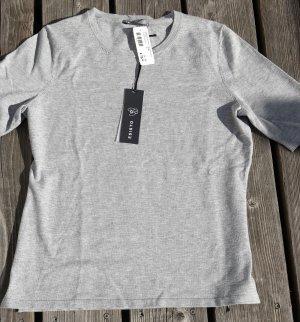 ESISTO Gebreid shirt lichtgrijs Viscose