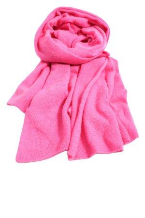 ESISTO Sciarpa lavorata a maglia rosa stile casual