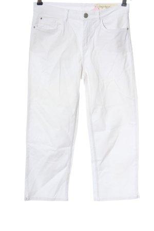 Esmara Jeansy 3/4 biały W stylu casual