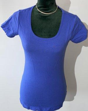 Esmara Basic Shirt neon blue cotton