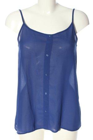 Esmara ärmellose Bluse blau Casual-Look