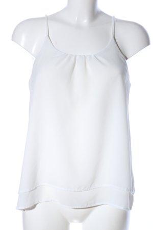 Esmara ärmellose Bluse weiß Elegant