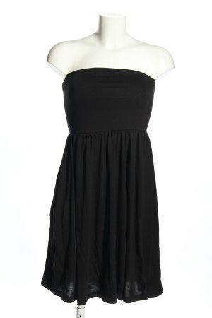 Esmara Bandeaukleid schwarz Elegant