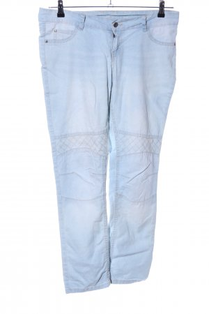 Esmara Bikerjeans blau Casual-Look