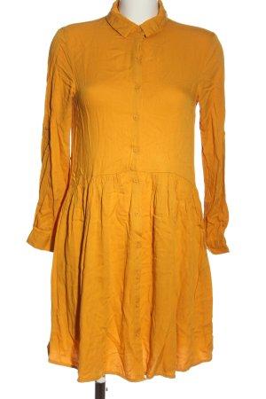 Esmara Robe chemisier orange clair style décontracté