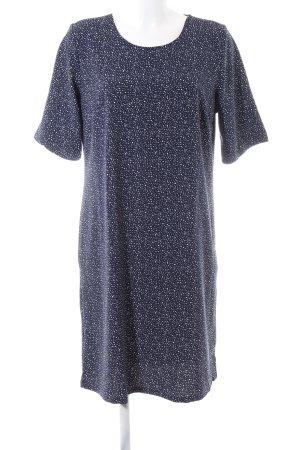Esmara Robe chemisier bleu-blanc motif de tache style décontracté