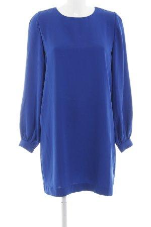 Esmara by Heidi Klum Langarmkleid blau schlichter Stil
