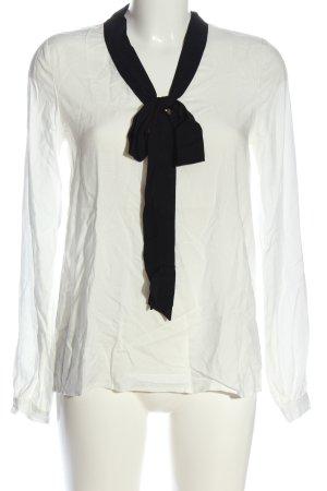 Esmara by Heidi Klum Tie-neck Blouse white-black casual look