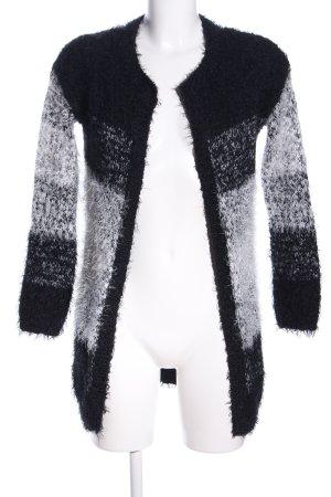Esmara Cardigan schwarz-weiß Farbverlauf Casual-Look
