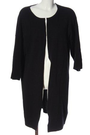 Esmara Cardigan schwarz Streifenmuster Business-Look