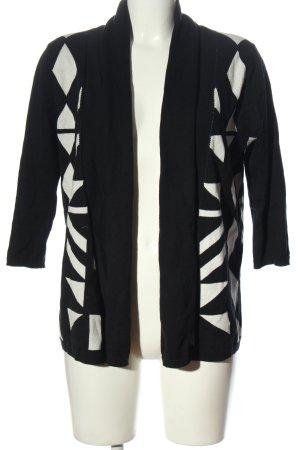 Esmara Cardigan schwarz-weiß grafisches Muster Casual-Look
