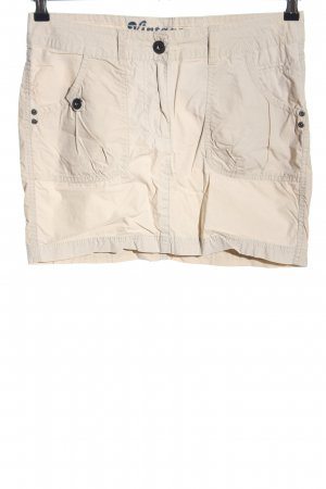 Esmara Cargo Skirt cream casual look