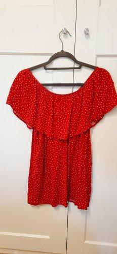 Esmara Koszula typu carmen czerwony-biały