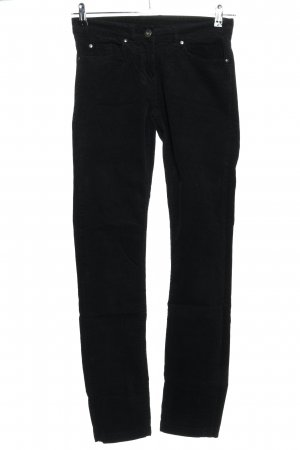 Esmara Corduroy Trousers black casual look