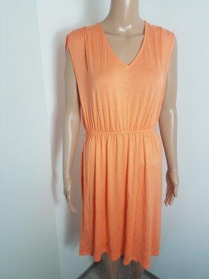 Esmara Damen Strandkleid Sommerkleid orange Viskose Größe 38/40