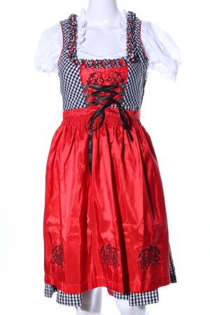 Esmara Dirndl flower pattern wet-look