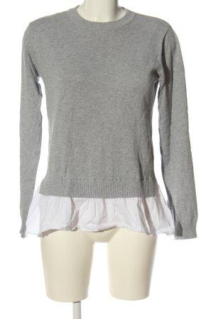 Esmara  grigio chiaro-bianco puntinato stile casual