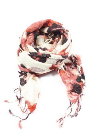 Esmara Bufanda de flecos estampado con diseño abstracto look casual
