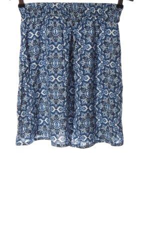 Esmara Glockenrock blau-weiß Mustermix Casual-Look