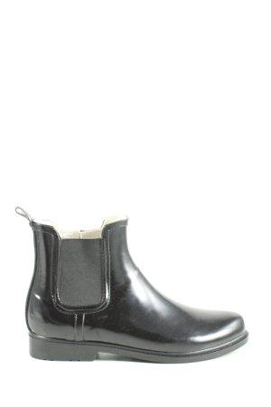 Esmara Botas de agua negro look casual
