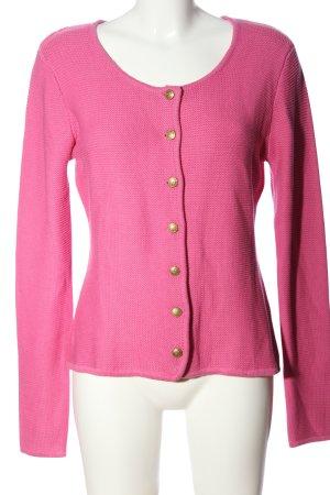Esmara Cardigan all'uncinetto rosa stile casual