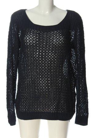 Esmara Pullover all'uncinetto nero modello web stile casual