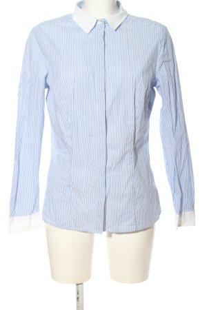 Esmara Hemd-Bluse blau-weiß Streifenmuster Business-Look