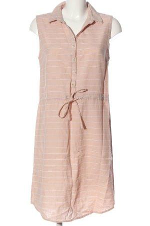 Esmara Hemdblusenkleid pink-weiß Allover-Druck Casual-Look