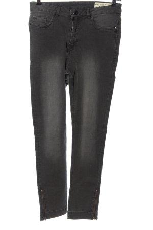 Esmara High Waist Jeans hellgrau Casual-Look