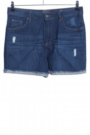 Esmara High-Waist-Shorts blau Casual-Look