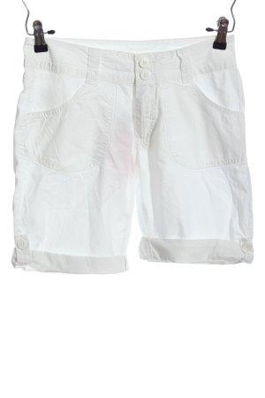Esmara Hot Pants weiß Casual-Look