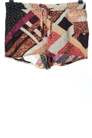 Esmara Krótkie szorty Abstrakcyjny wzór W stylu casual