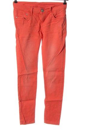 Esmara Spodnie biodrówki różowy W stylu casual