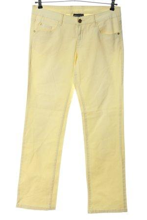 Esmara Jeansy z prostymi nogawkami bladożółty W stylu casual