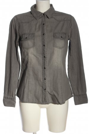 Esmara Denim Shirt light grey casual look
