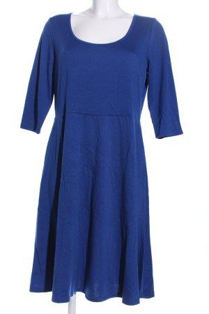 Esmara Jerseykleid blau Business-Look