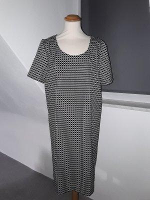 esmara Kleid L schwarz/weiß