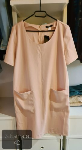 Esmara Sukienka tunika brzoskwiniowy
