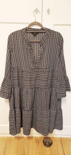Esmara Kleid Tunika weiß schwarz Gr. 36/38
