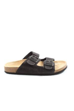 Esmara Komfort-Sandalen schwarz Casual-Look