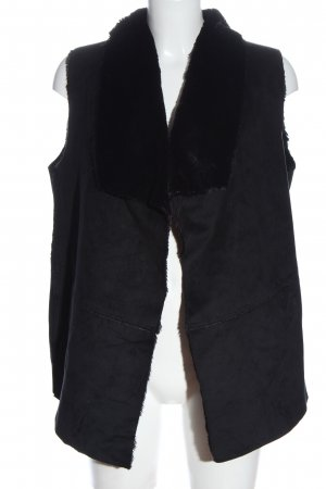 Esmara Fake Fur Vest black casual look