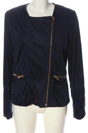 Esmara Faux Leather Jacket blue casual look